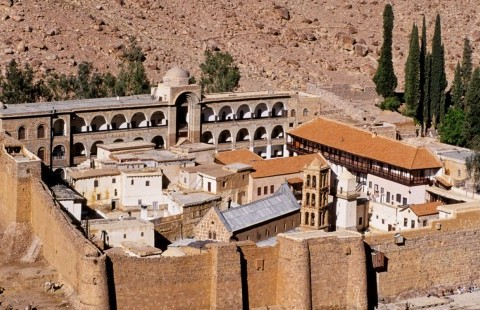 St. Catherine Monastery overnight from Cairo